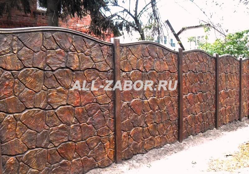 Купить забор из бетона в смоленске флюатированный бетон