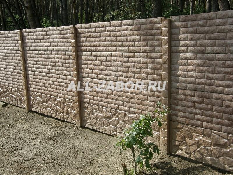 купить забор из бетона в смоленске